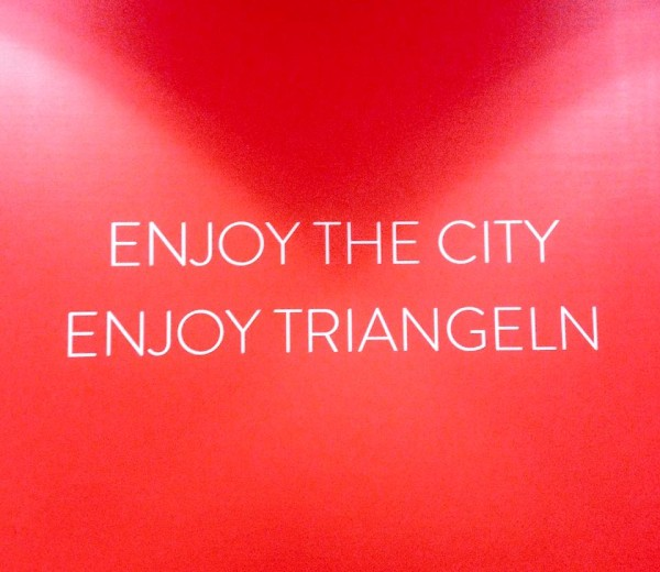 Enjoy the city. Enjoy Triangeln.