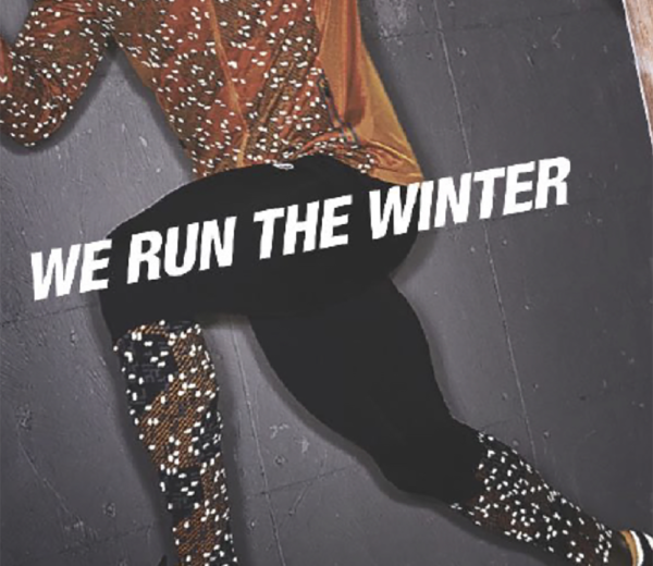 We run the winter